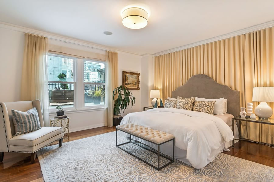 1100 Sacramento Street #208 - Bedroom