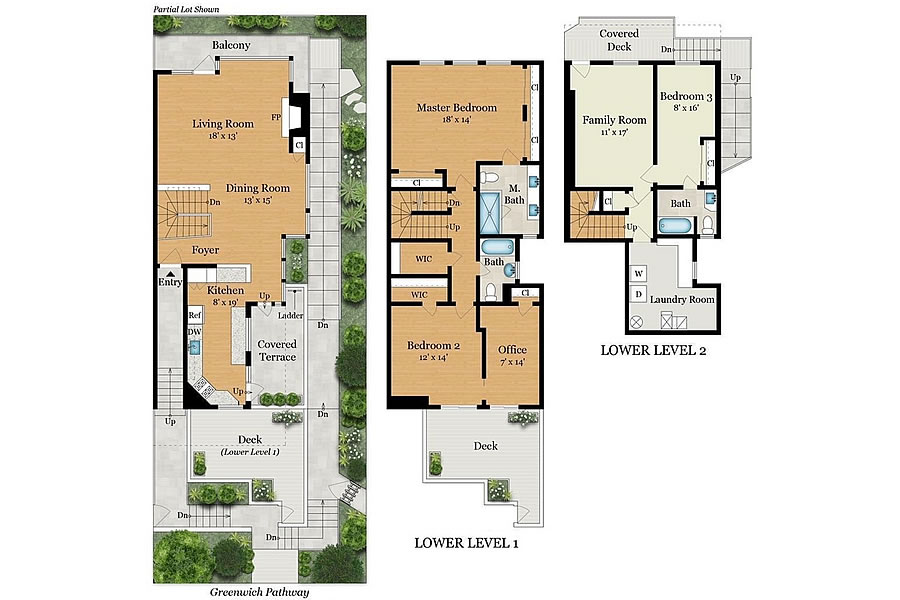 1116 Greenwich Floor Plan