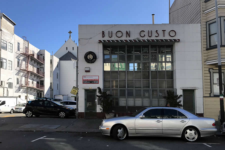 Plans to Save the Façade of Iconic North Beach Sausage Factory