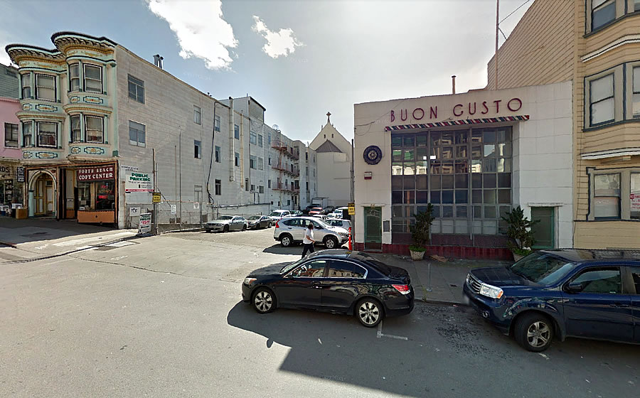 535 Green Street Site 2015