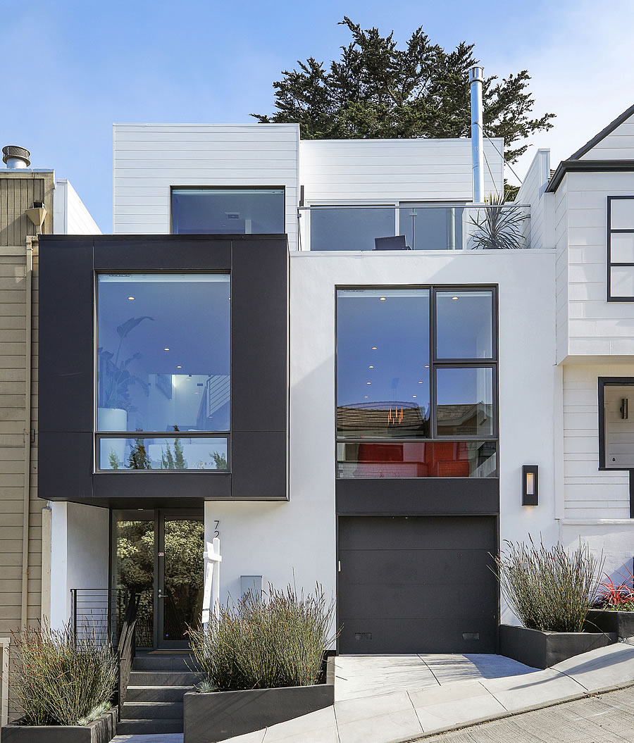 One Percent Appreciation for a Modern Noe Valley Home