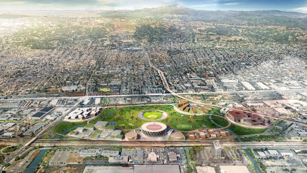 Oakland A's Coliseum Plan 2018