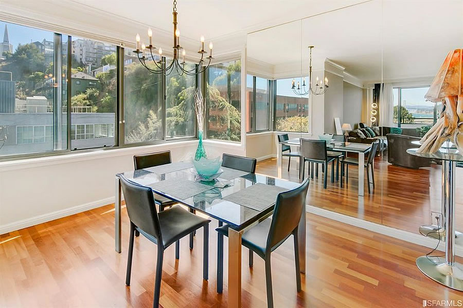 101 Lombard Street #314E - Dining View