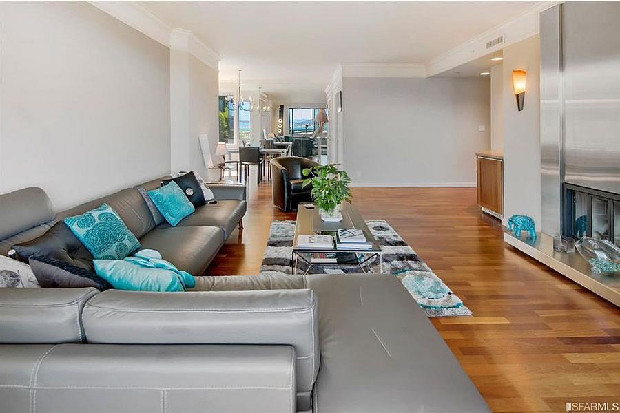 101 Lombard Street #314E - Living Reverse