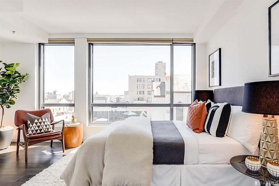 1788 Clay Street #511 Bedroom