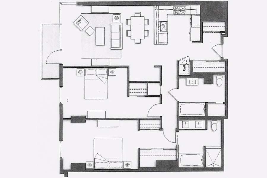 72 Townsend #502 Floor Plan