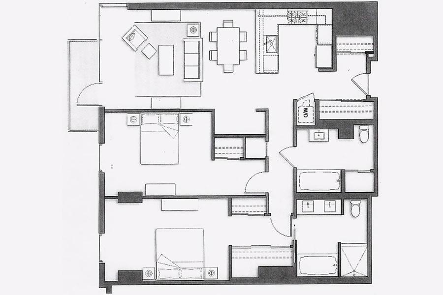 72 Townsend #502 Floor Plan