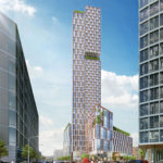 Plans for a Single, Taller 984-Unit Hub District Tower Picked