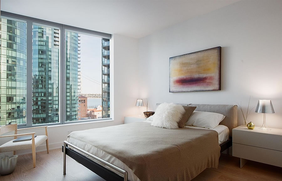 201 Folsom Street #18D - Bedroom