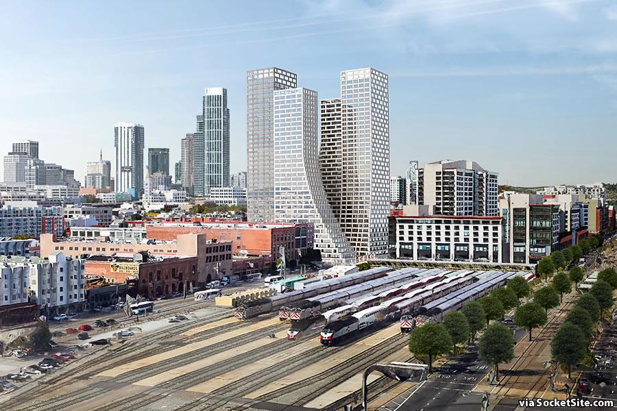 655 4th Street Rendering 2019 - Southwest Facade