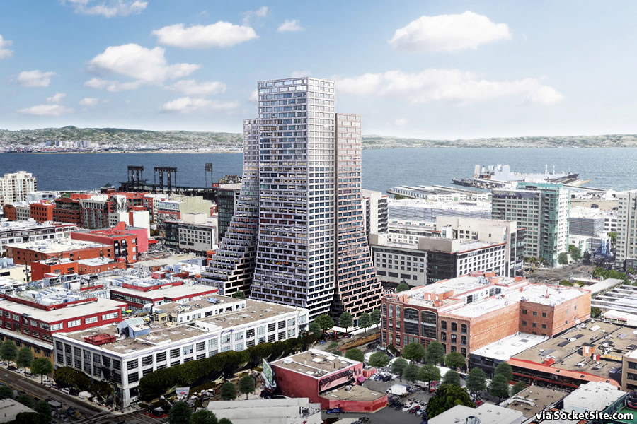 Pair of Swoopy Central SoMa Towers Slated for Approval