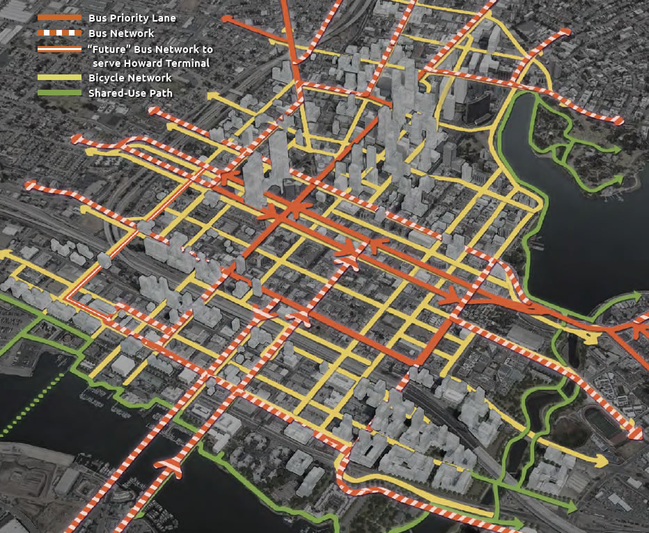 Downtown Oakland Preliminary Draft Plan - Transit