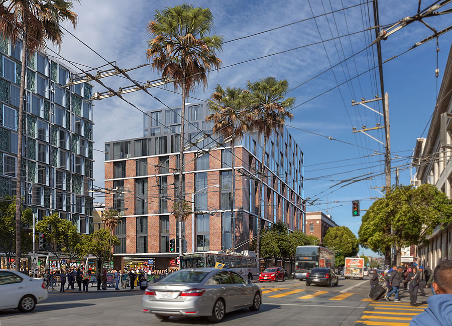 1979 Mission Street Rendering 2019 - 16th