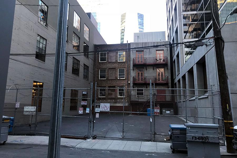 36 Tehama Street Site - Street