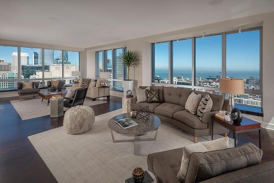 765 Market Penthouse #2A Living