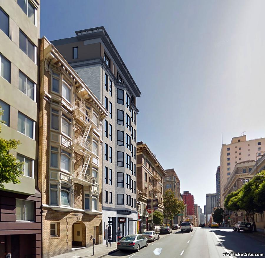 820 Post Street Rendering 2019