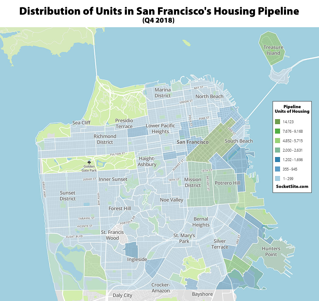 Pipeline of Development and Construction Tick Up in San Francisco