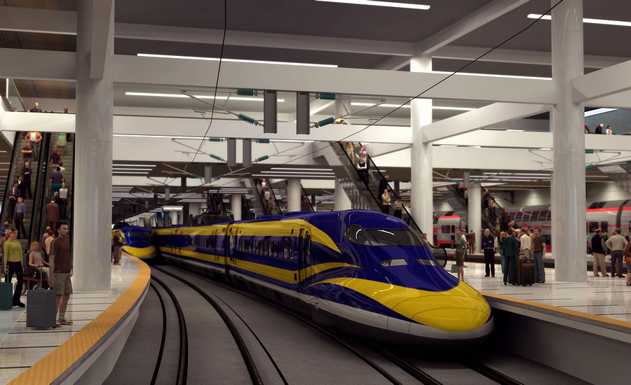 Knock-On Effects of Governor's Pledge to Slow CA's High Speed Roll