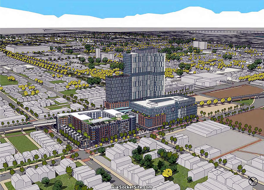West Oakland Station Rendering - 5th Street