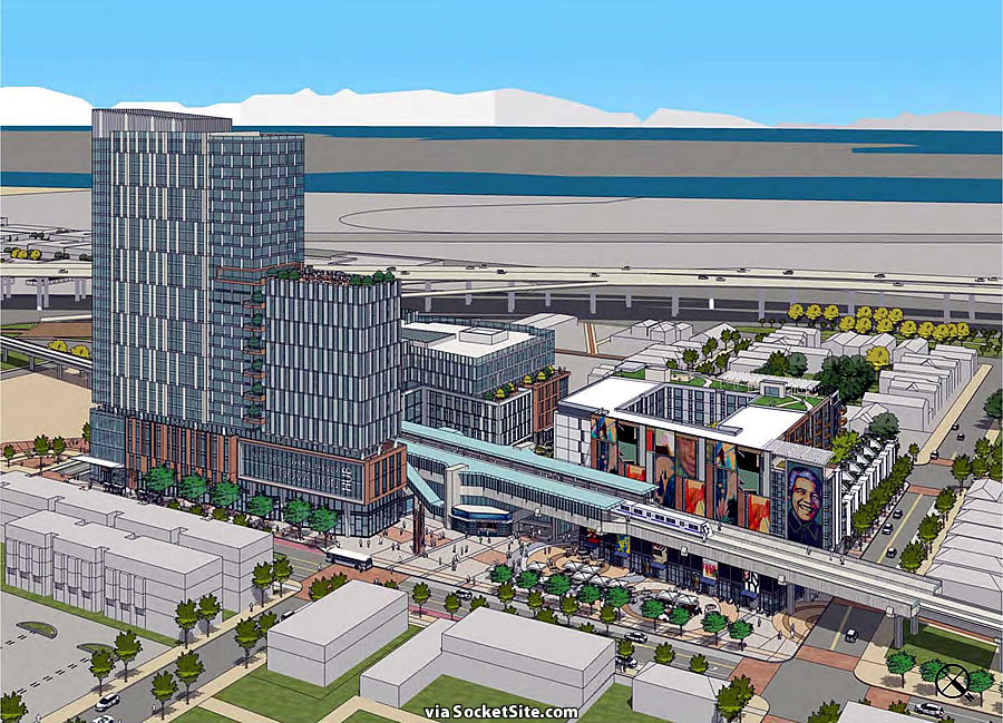 West Oakland Station Rendering - 7th Street