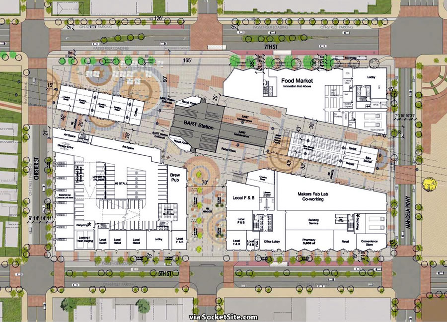 West Oakland Station Site Plan