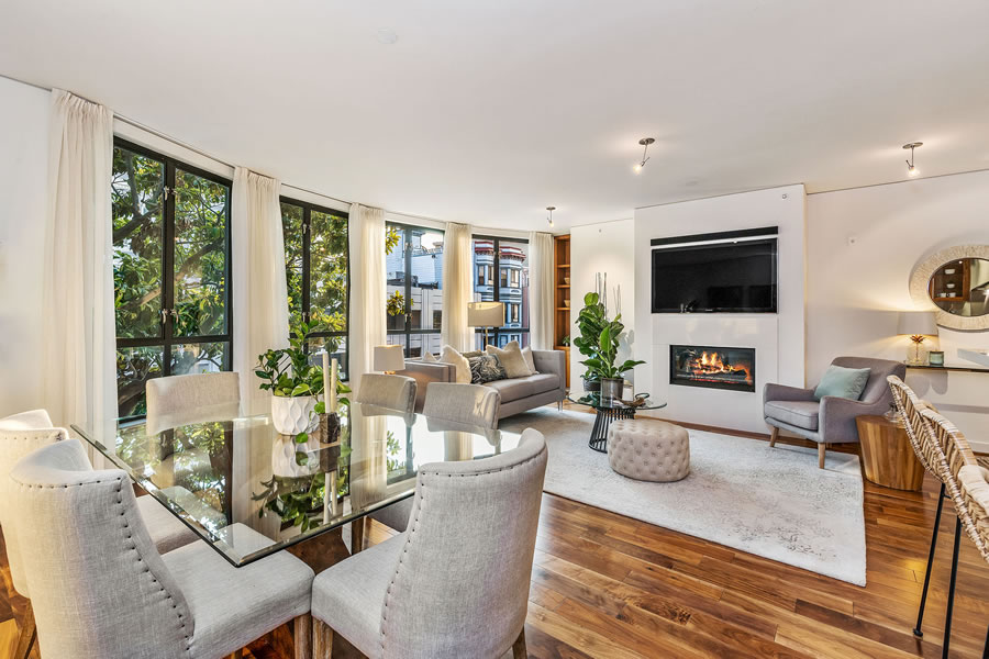 1536 Pacific Avenue #1 Living