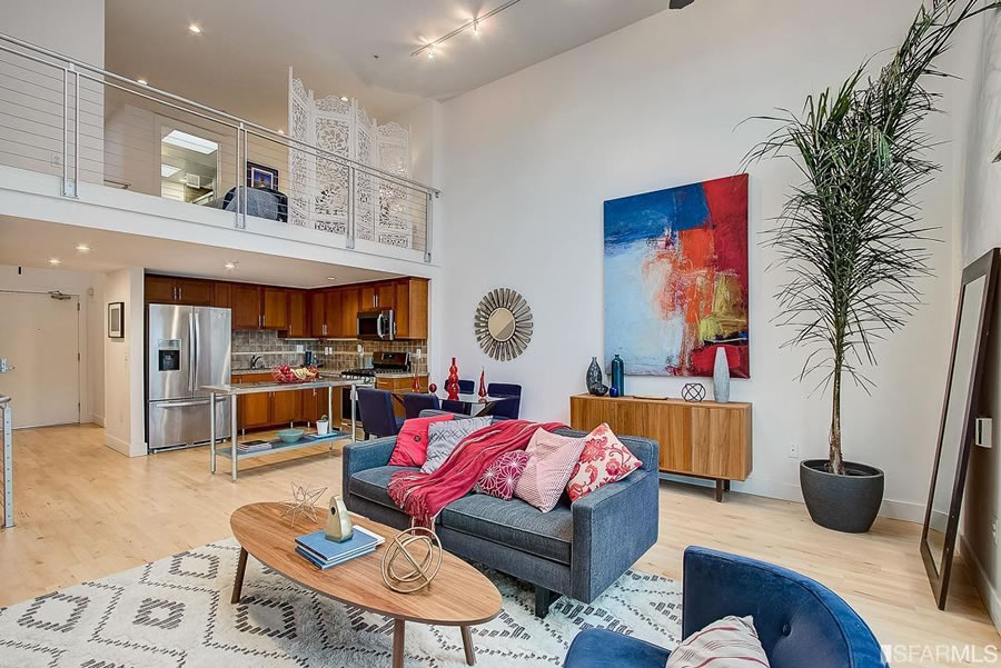Stylish SoMa Loft Nearly Fetches its 2015 Price