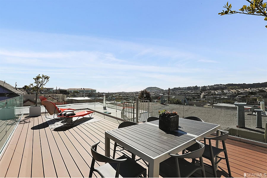 478 Anderson Street - Roof Deck