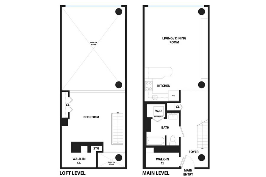 601 4th Street #101 - Floor Plan