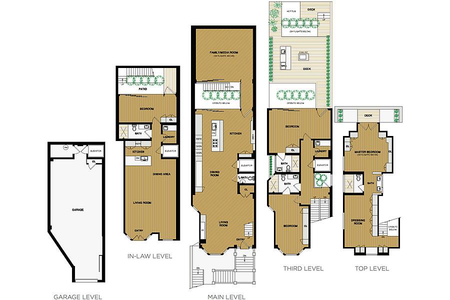 3847 18th Street Floor Plan