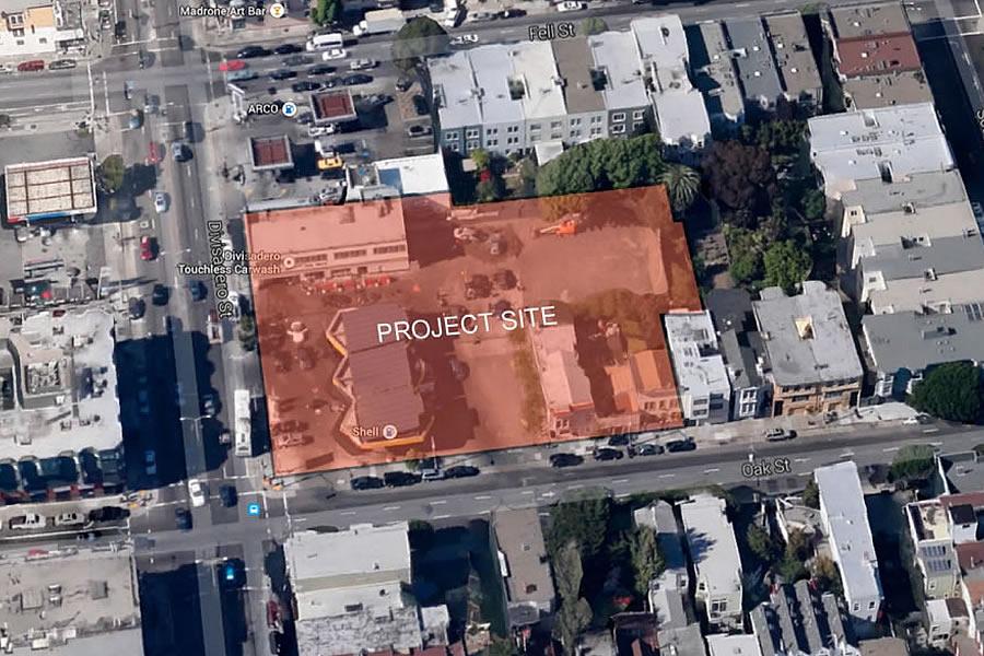 400 Divisadero Project Site