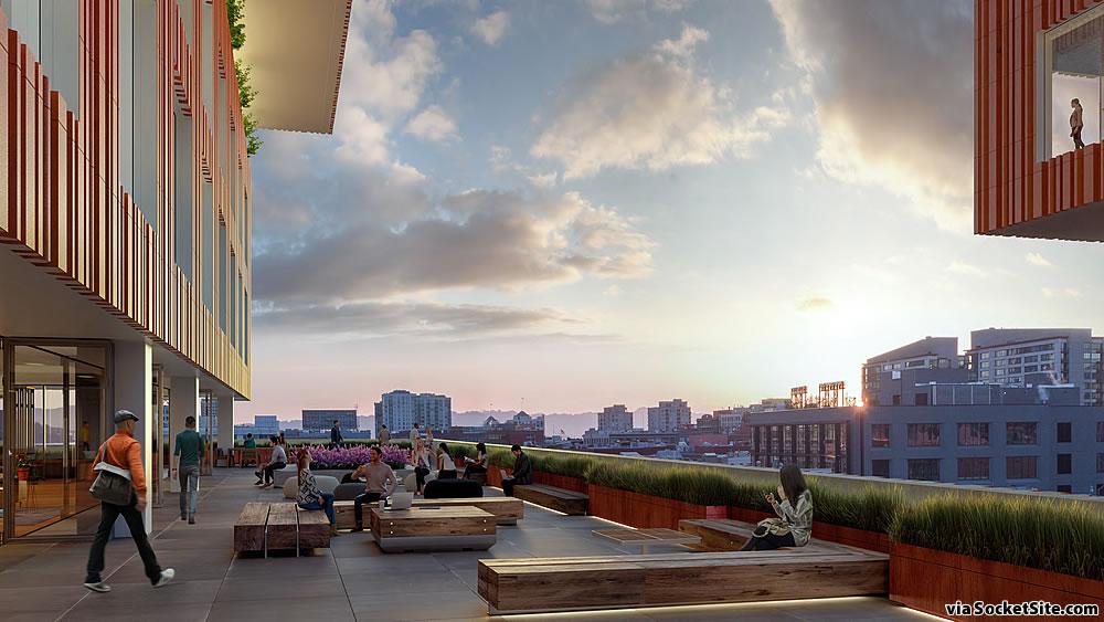598 Brannan Rendering 2019 - Terrace View