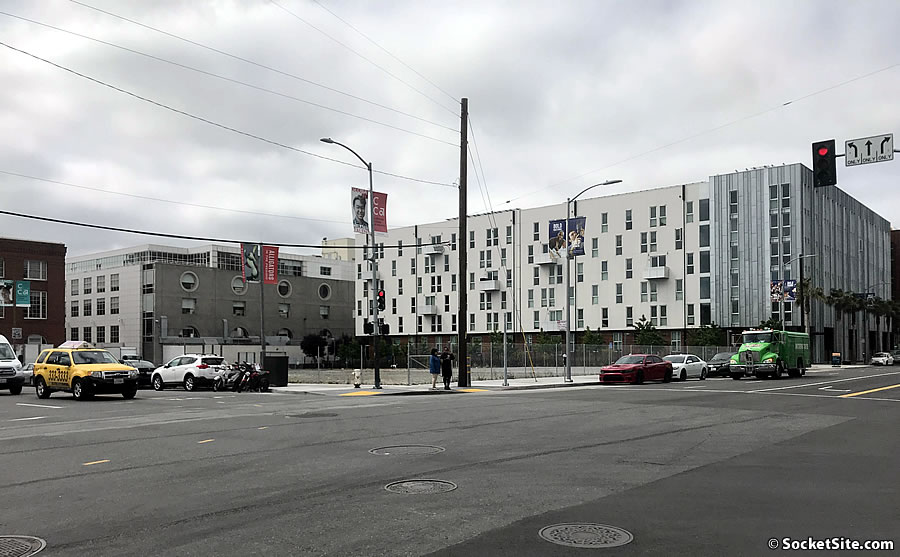 City Seeking Affordable Housing Developer for Fenced SoMa Site