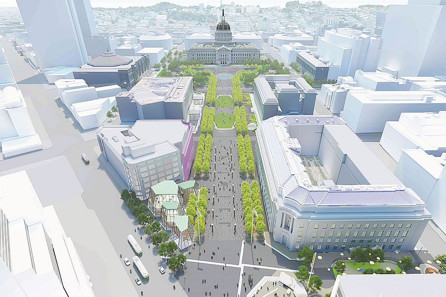 Plans to Make Civic Center the Safest Place in San Francisco
