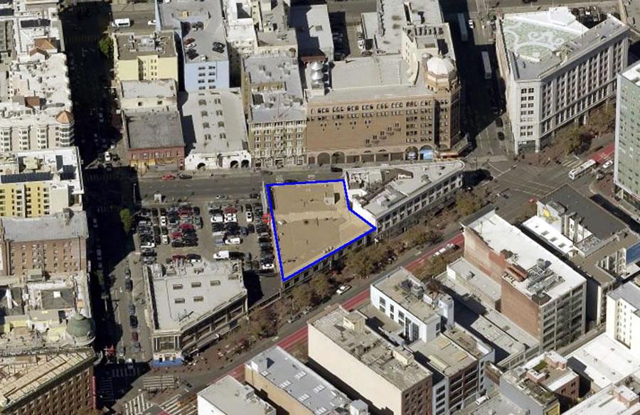 1028 Market Street Site Aerial 900