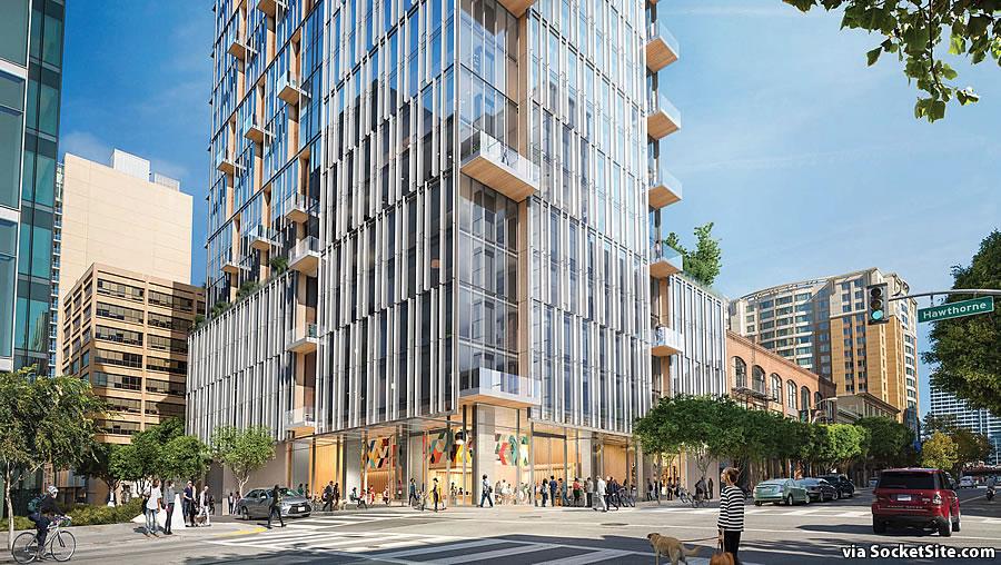 95 Hawthorne Street Rendering 2019 - Base