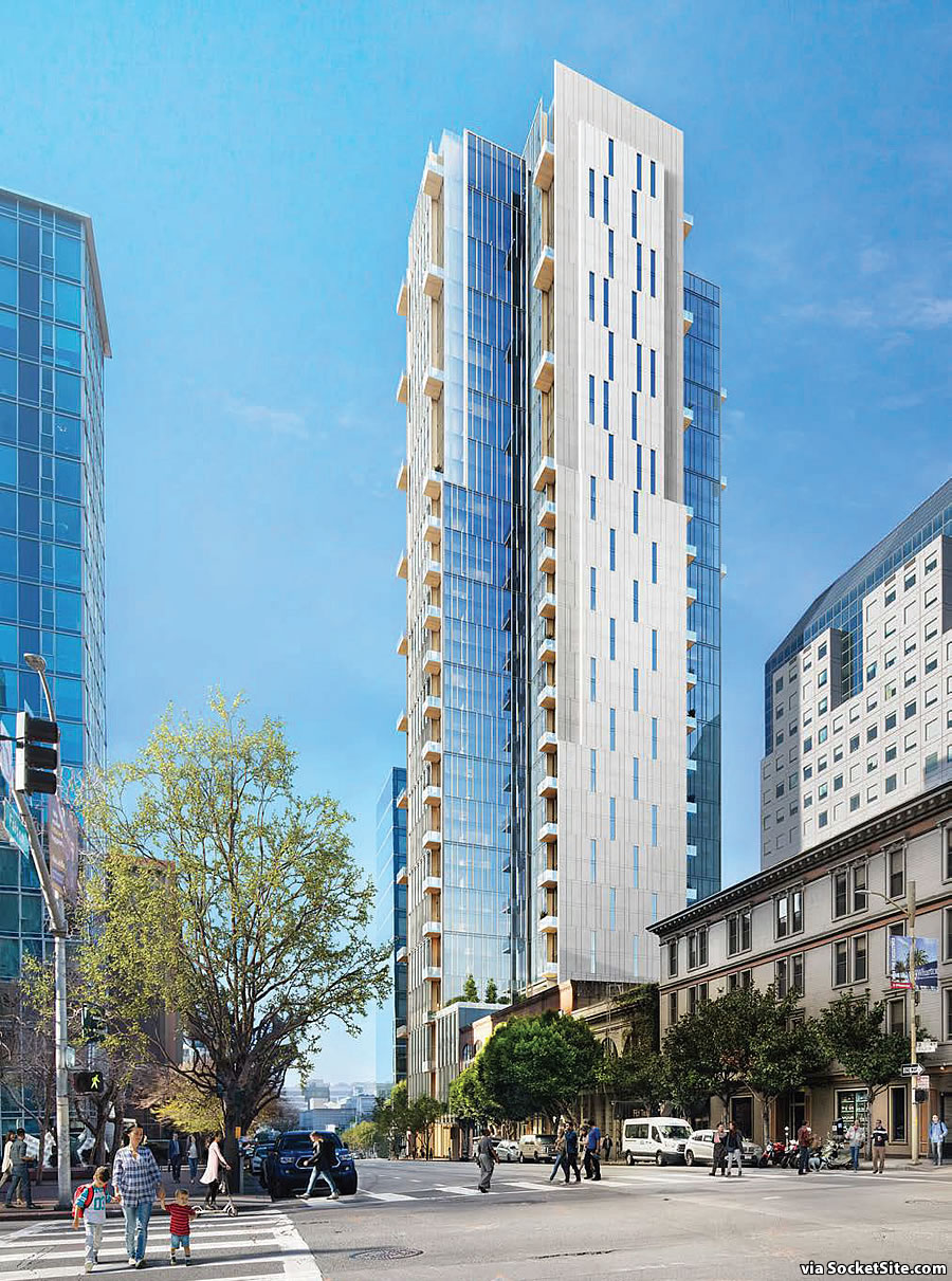 Taller Transbay District Tower Seeking Approval