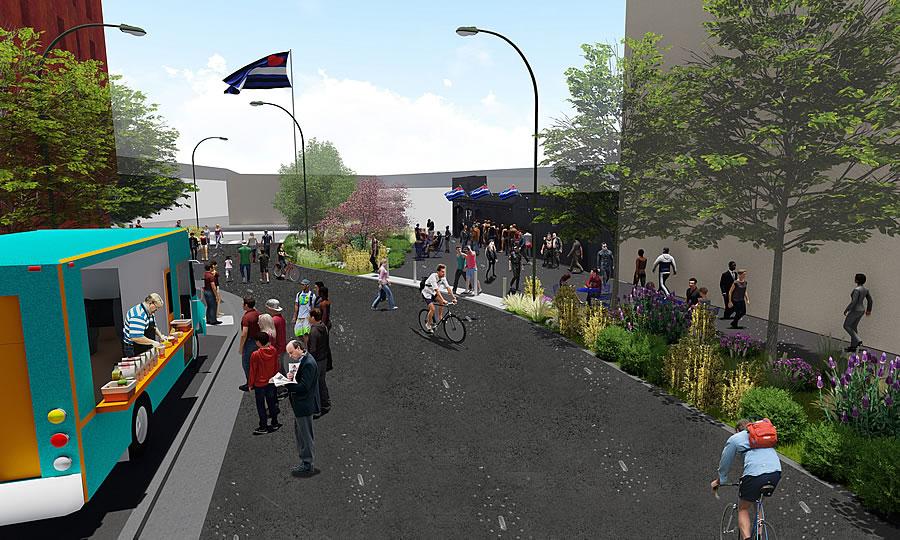 Eagle Plaza Rendering 2019 - Reverse