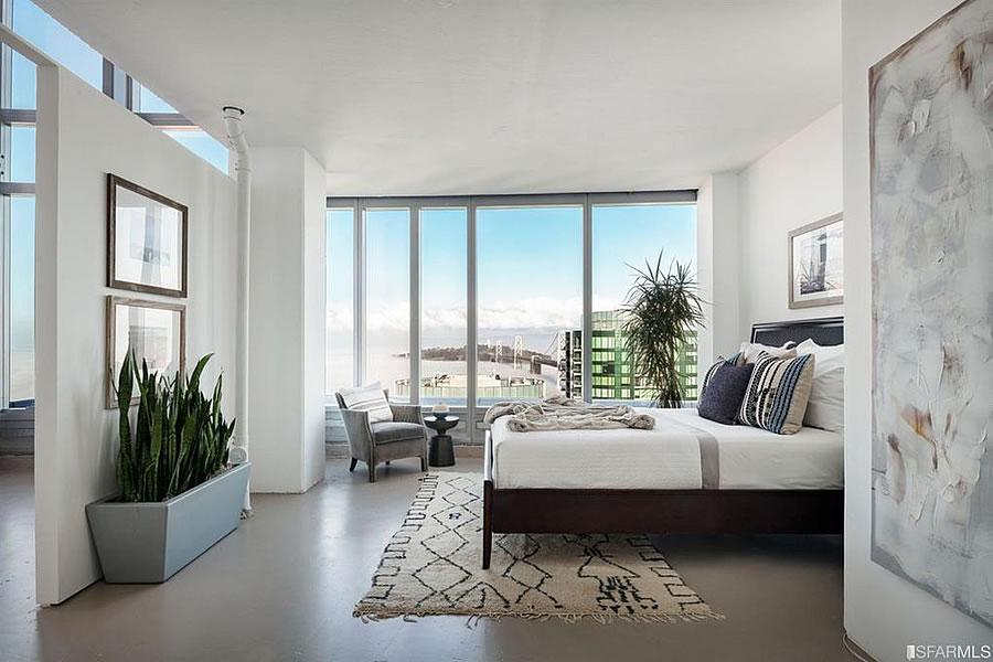 201 Folsom Street #41A - Bedroom
