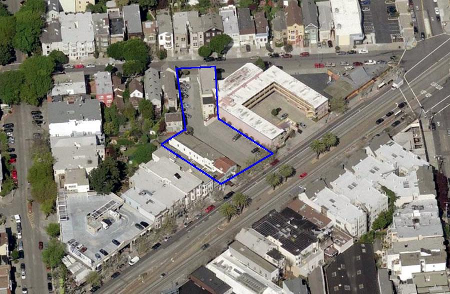 2238 Market Street Site Aerial