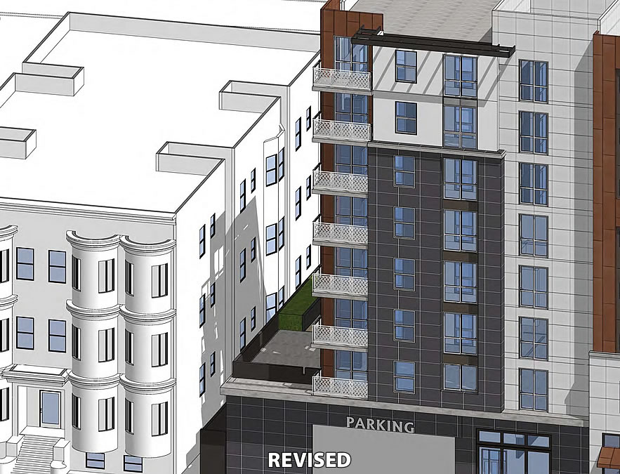2352 Shattuck Avenue Rendering - Channing Revised