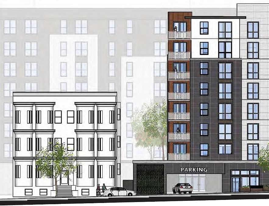 2352 Shattuck Avenue Rendering - Channing