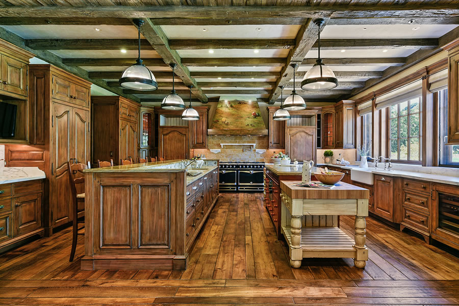 7 Country Oak Kitchen