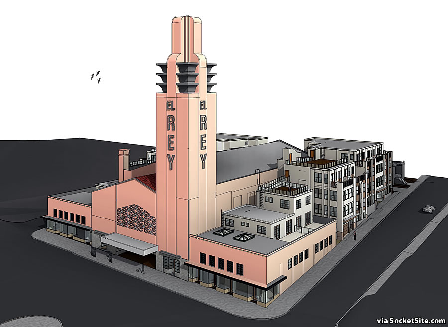 Plans to Redevelop the Historic El Rey Theater Site Progress