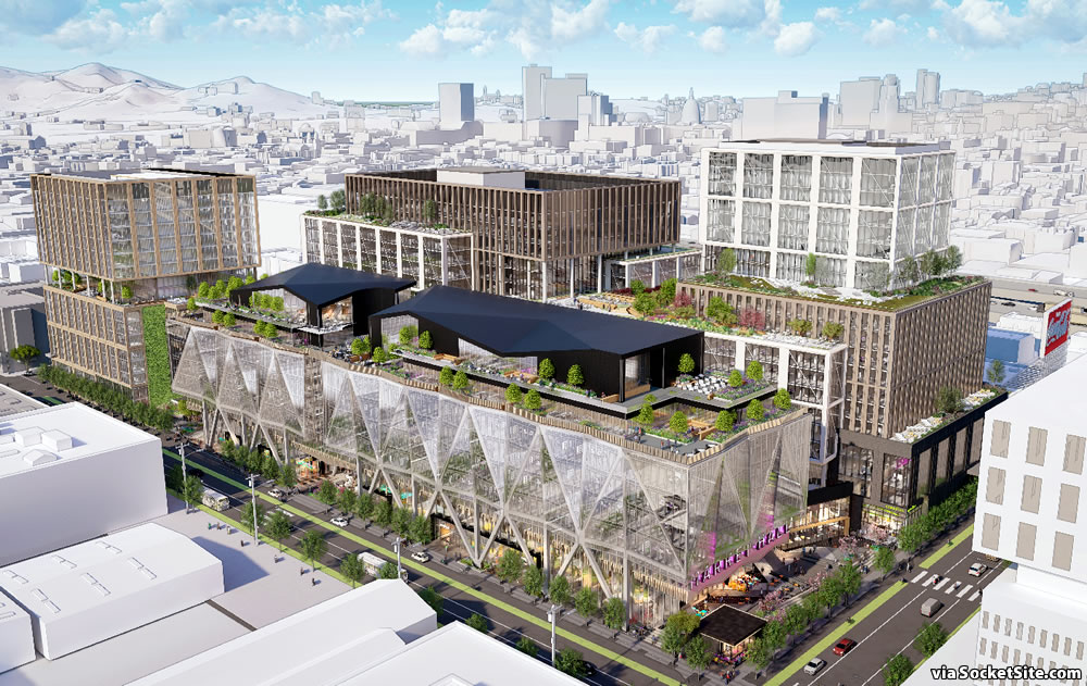 San Francisco Flower Mart Rendering 2019