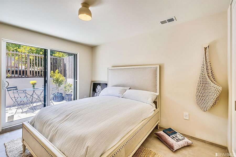 1119 Hollister Avenue 2019 - Lower Level Bedroom