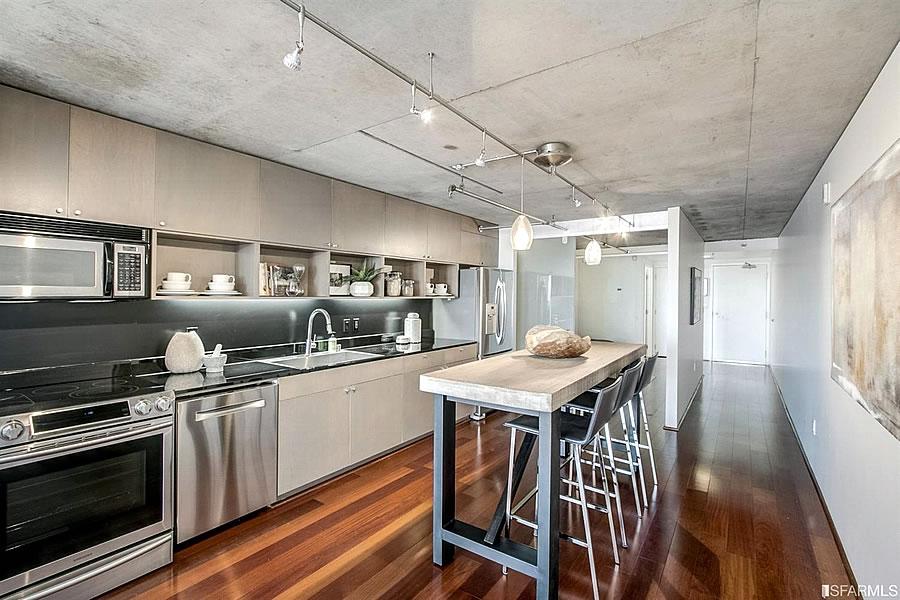 855 Folsom #523 Kitchen Reverse