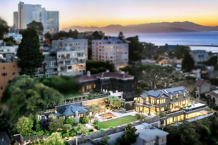 950 Lombard Street 2019 - Aerial