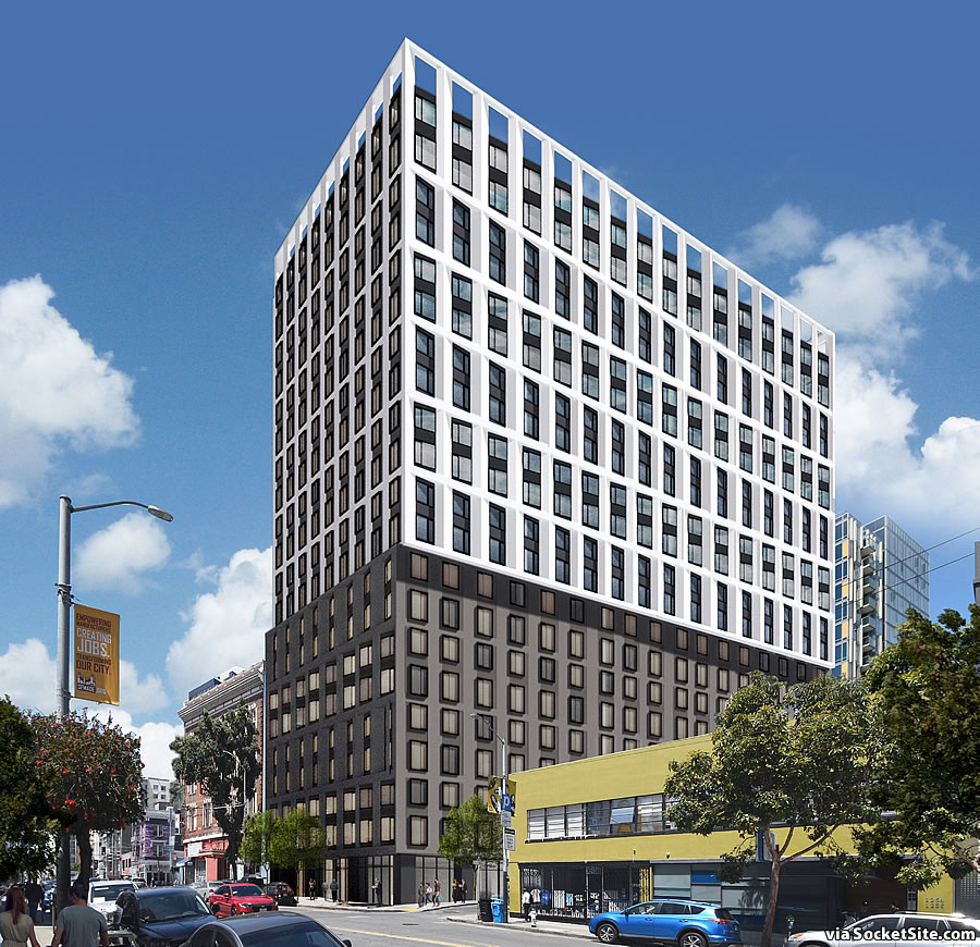 Big Mission Street Development Redesigned, Back in Play
