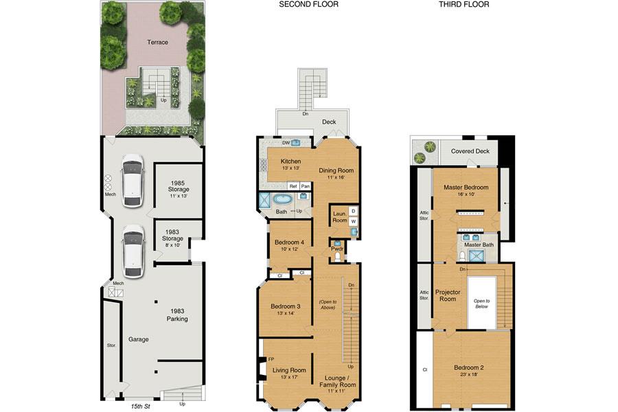 1985 15th Street - Floor Plan